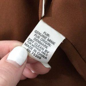 Bloomingdale's Jackets & Coats - Mink Vest
